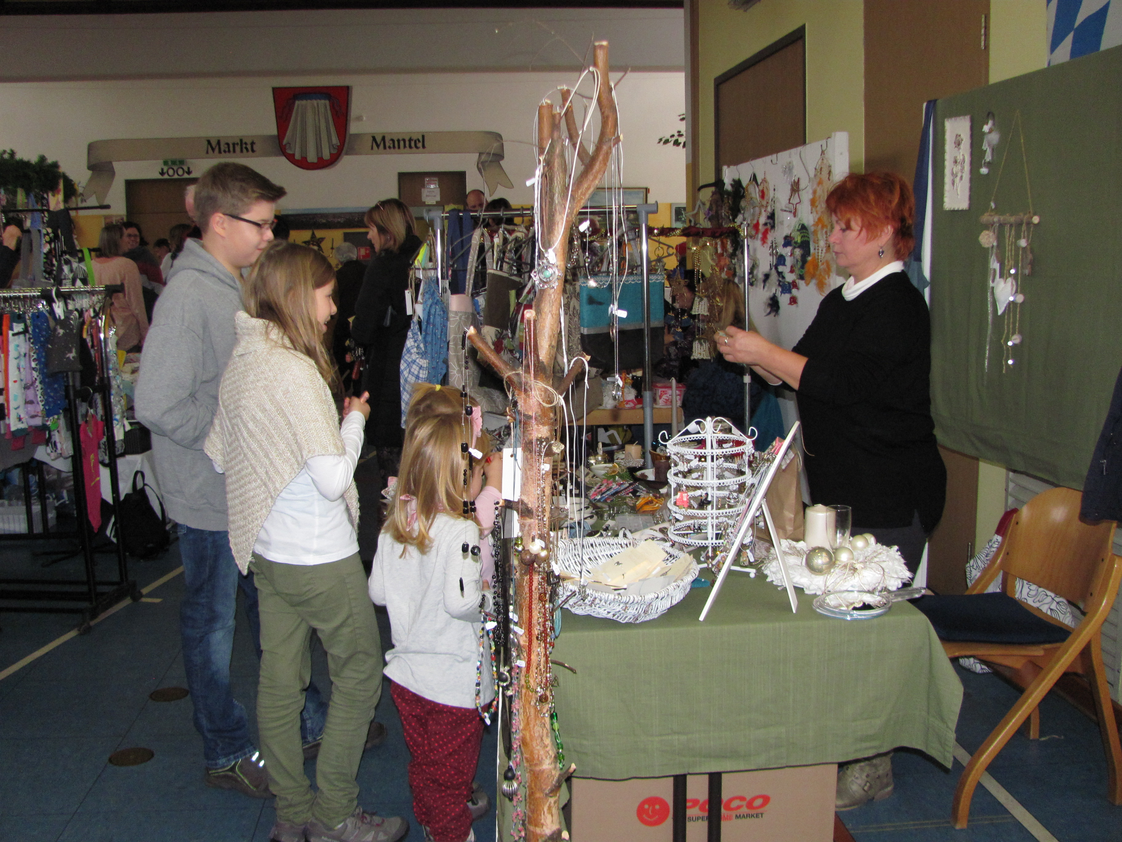 Vielseitiges Angebot bei Manteler Hobby-Kunst-Ausstellung