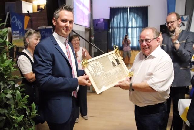 Ehrenabend 100-jähriges Jubiläum der TSG Mantel/Weiherhammer