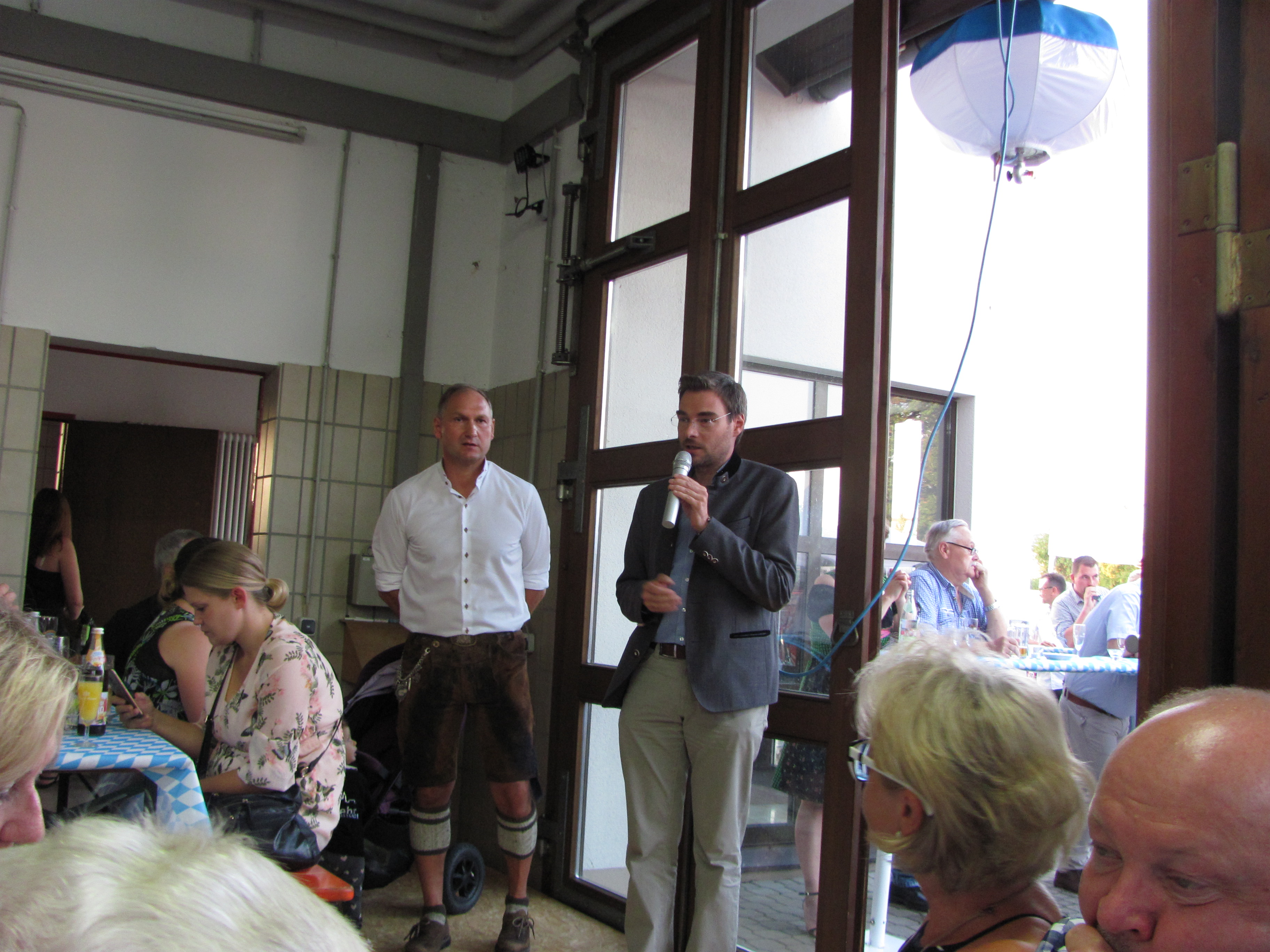 Richard Kammerer, Bürgermeister von Mantel feiert 50. Geburtstag