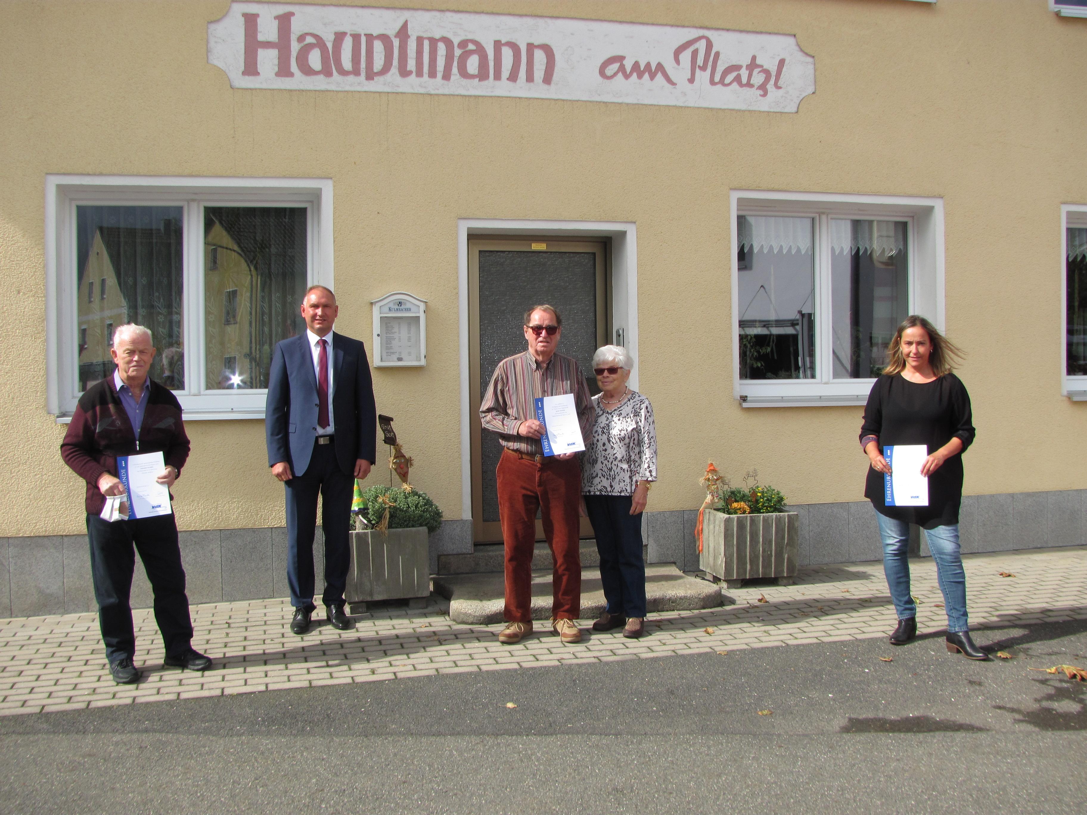 Mantler VdK ehrt Sepp Rieder für 70 Jahre Mitgliedschaft